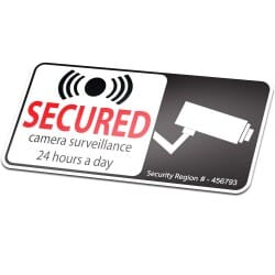 Camera Security 24 Hours Secured