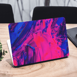Abstract Paint Acrylic Laptop Sticker Skin