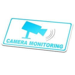 Camera Monitoring Sticker