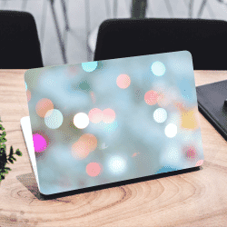Bokeh Multicolor Laptop Sticker Skin