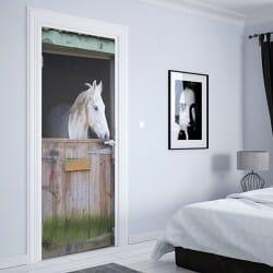 Door Sticker Horse