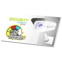 Security Camera Sticker