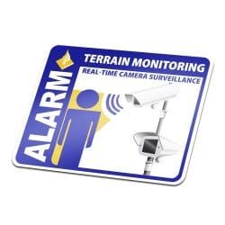 Terrain Monitoring Sticker