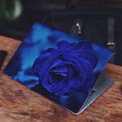 Blue Rose Laptop Sticker Skin