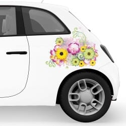 Flowers Car Stickers